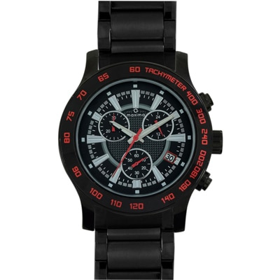 Maxima Attivo Collection 32950Cmgb Men Chronograph Watch