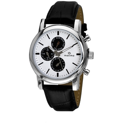 Maxima Attivo Collection 26842Lmgi Men Chronograph Watch