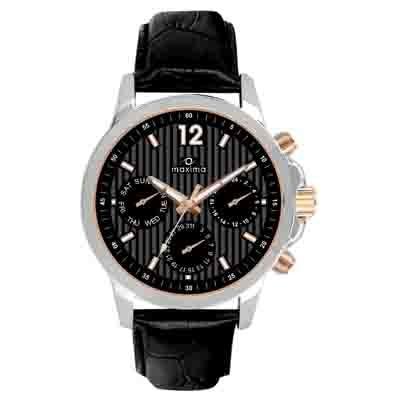 Maxima Attivo Collection 27555Lmgi Men Chronograph Watch