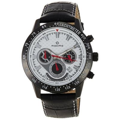 Maxima Attivo Collection 25951Lmgb Men Chronograph Watch