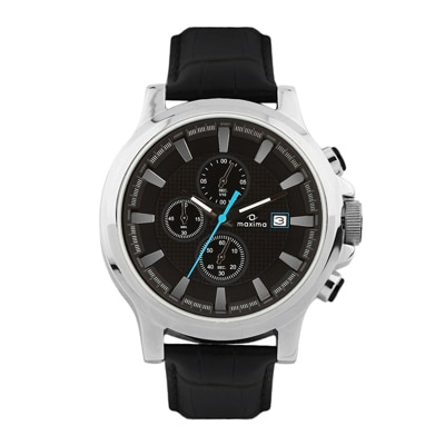 Maxima Attivo Collection 27710Lmgi Men Chronograph Watch