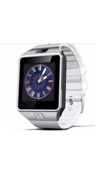 Maya-DZ09-White-Smart-Watch