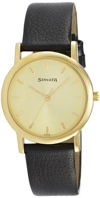 Sonata 7987Yl01 Men Analog Watch