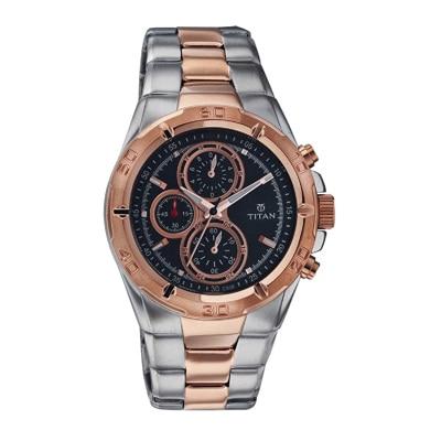 Titan 9308Km02 Men Analog Watch