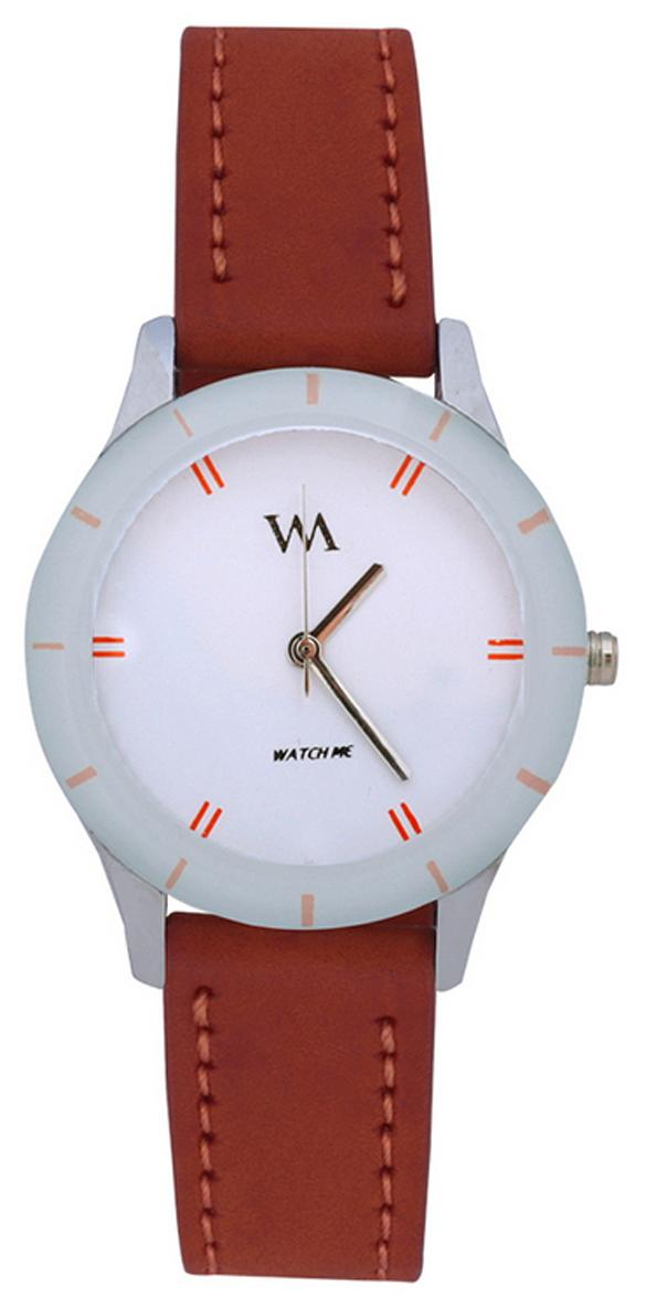 Watch Me Brown Analog Watch