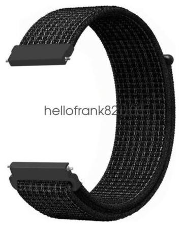 Woven Nylon Sport Loop Watch Band Strap for Xiaomi Amazfit *** Youth Smart Watch