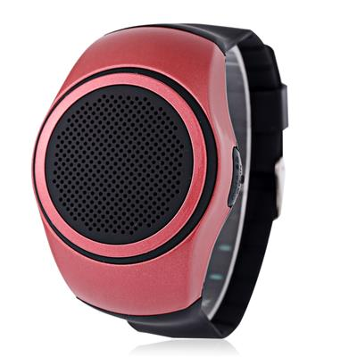 YUHAI Bluetooth 2.1 Watch Style Music Speaker Support TF Card Hands-free Call Wristwatch