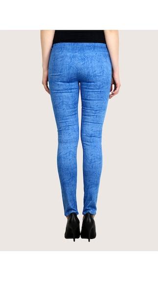 Fashion-Cult-Blue-Stylish-Cotton-Lycra-Jeggings