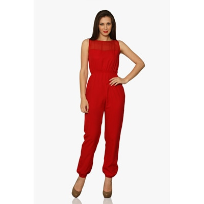 Miss Chase Let It Linger Jumpsuit