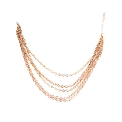 Fayon Chunky Fashion Two Layers Golden Chain Headgear