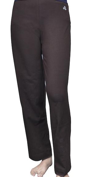 Model Prettysecrets Women Brown Amp Black Animal Print Lounge Pants Psw14cpj08