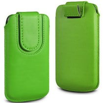 Wow Pouch For Lava Iris Pro 30 (Green)