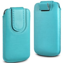 Wow Pouch For Lava Iris Pro 30 (Blue)
