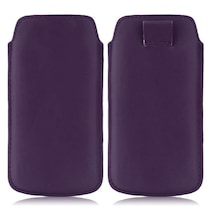 Wow Pouch For Micromax Bolt A58 (Purple)