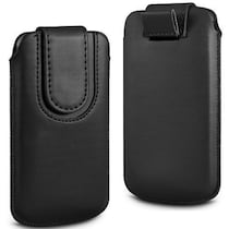 Wow Pouch For Micromax Canvas Ego A113 (Black)
