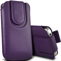 Wow Pouch For Micromax Canvas Ego A113 (Purple)