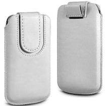 Wow Pouch For Micromax Canvas Ego A113 (White)