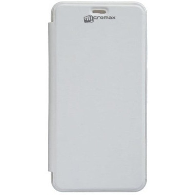 YGS Flip Cover For Micromax BOLT A67  White  available at Paytm for Rs.249
