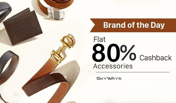 Skyways - Flat 80% Cashback