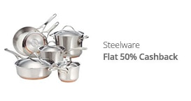 Steelware - flat 50% CB