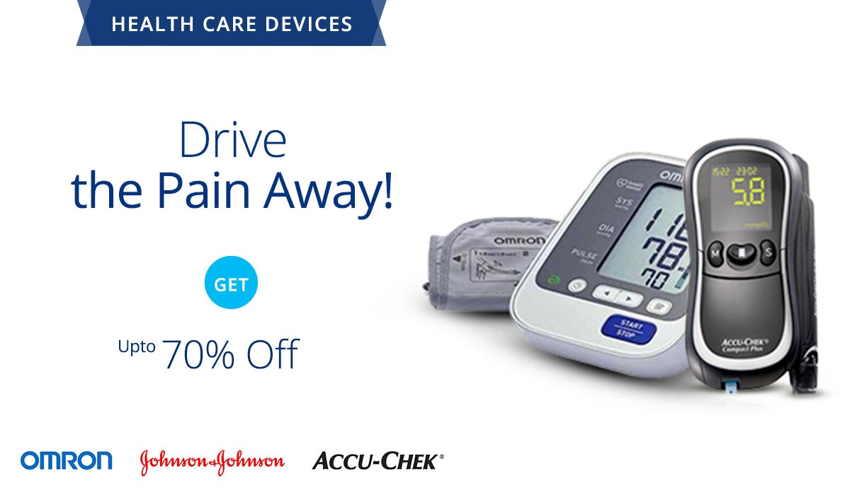 55% Off + Extra 33% Cashback on  Health Care Devices