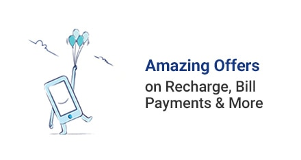 Get 5% Cashback on Recharge and bill Payments From Paytm