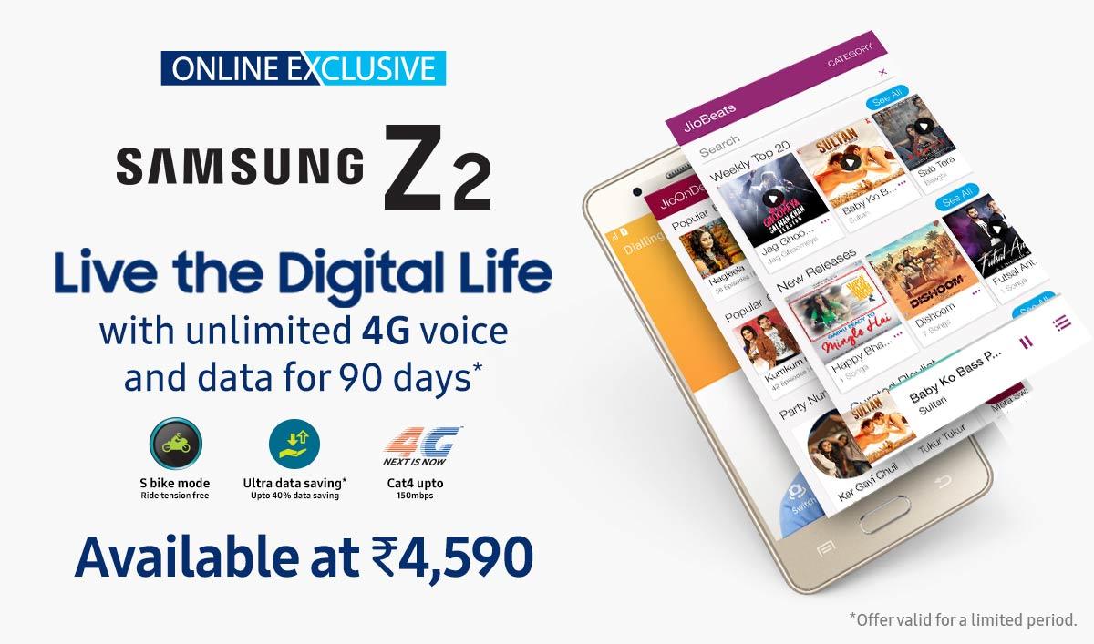 Samsung Z2 Launch | Online Exclusive