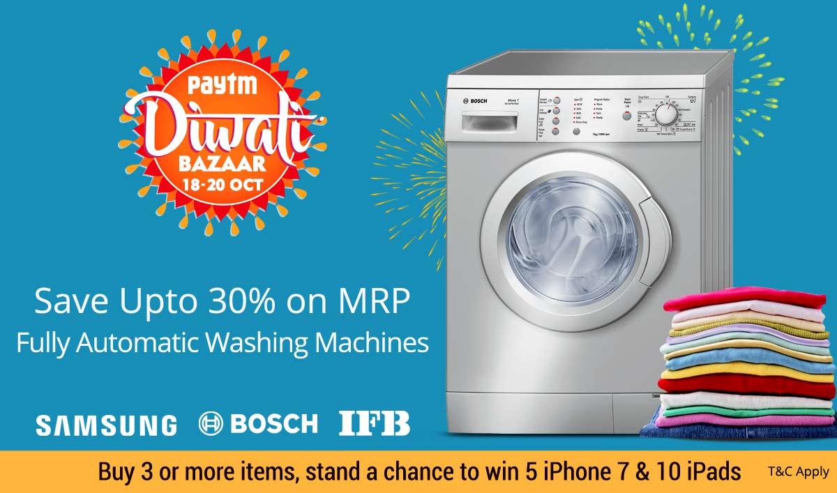 Paytm Diwali Offers: Paytm Diwali Sale 100% Cashback