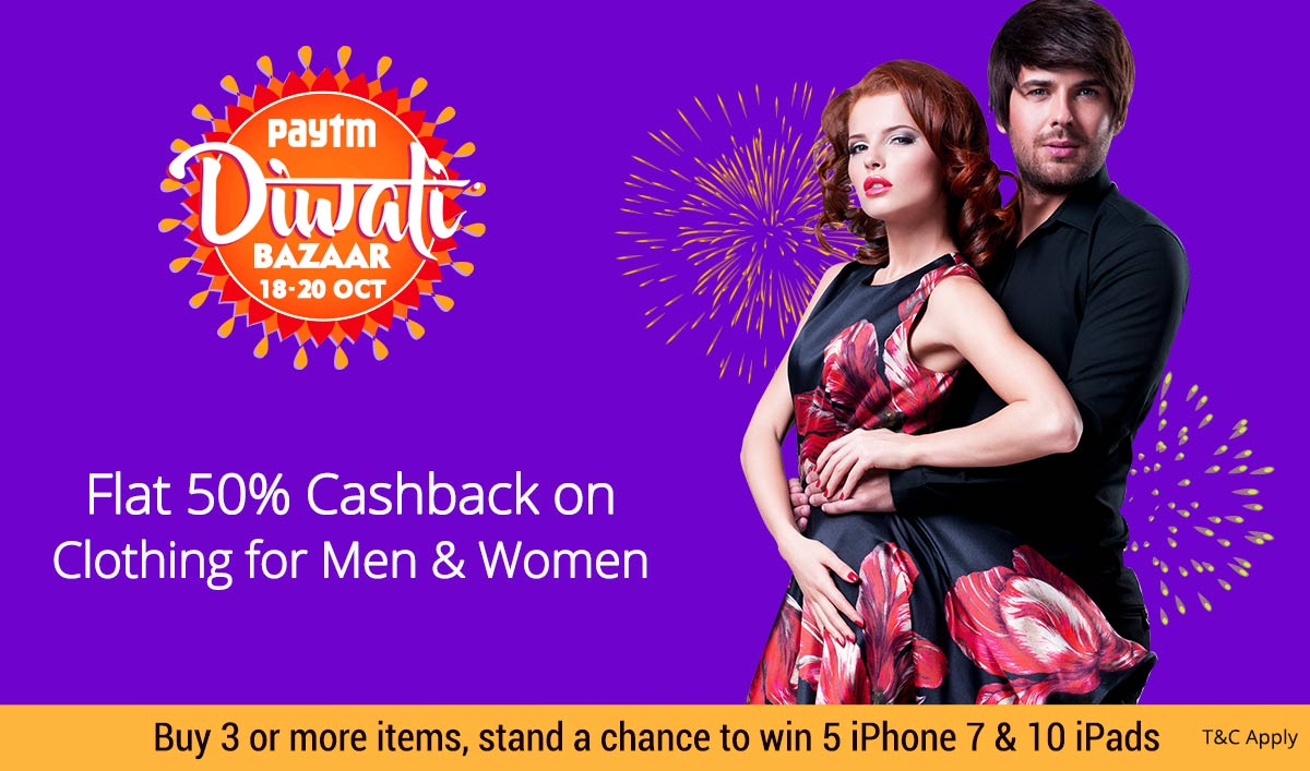 Clothing Collection | Flat 50% Cashback