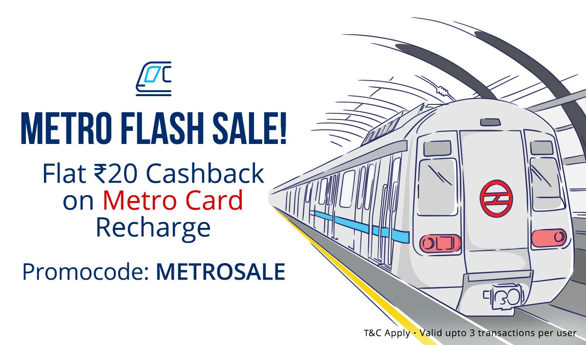 Metro Flash Sale | Flat Rs 20 Cashback