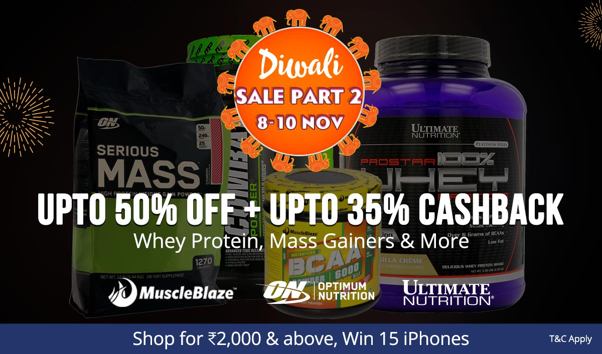 Protein & More | Upto 50% Off