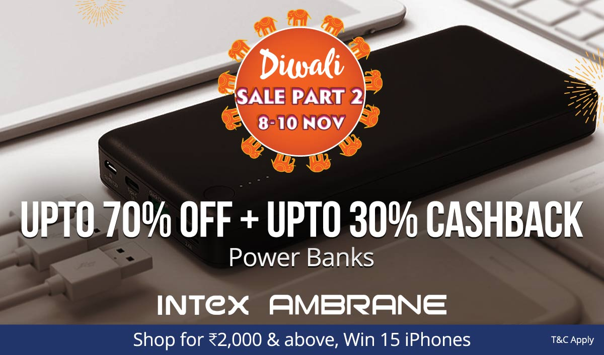 Power Banks | Upto 70% Off