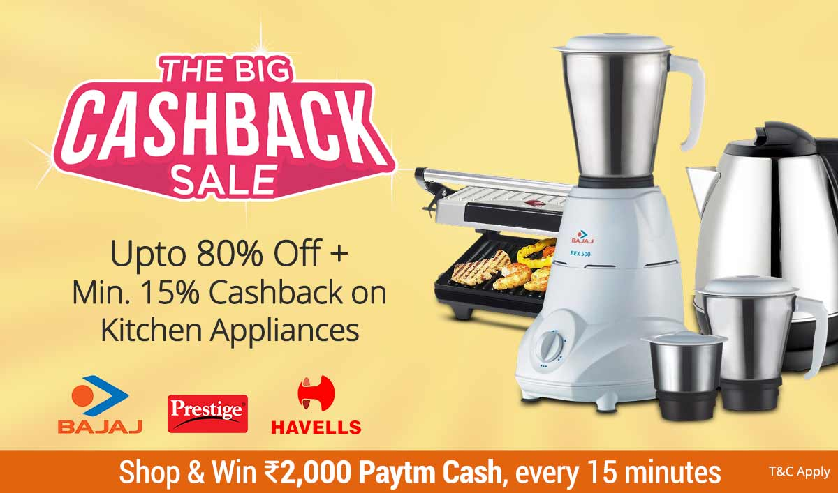Kitchen Appliances | Upto 80% Off