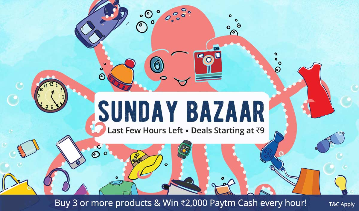 Sunday Bazaar | Deals Starting at Rs 9