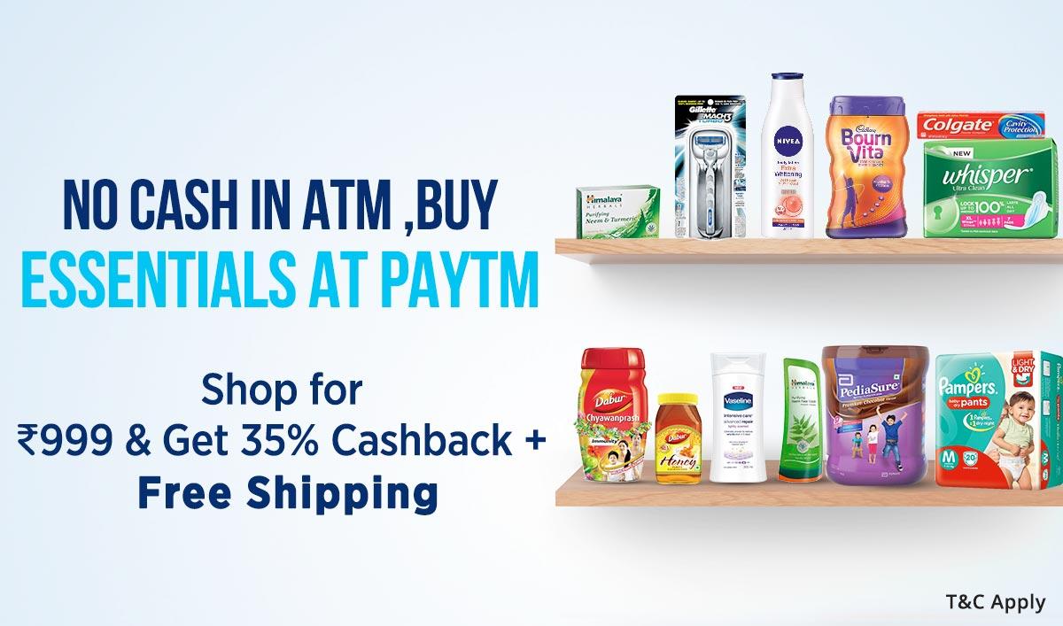 Daily Essentials | Get 35% Cashback